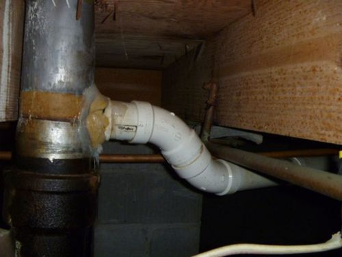 home inspection uphill drain
